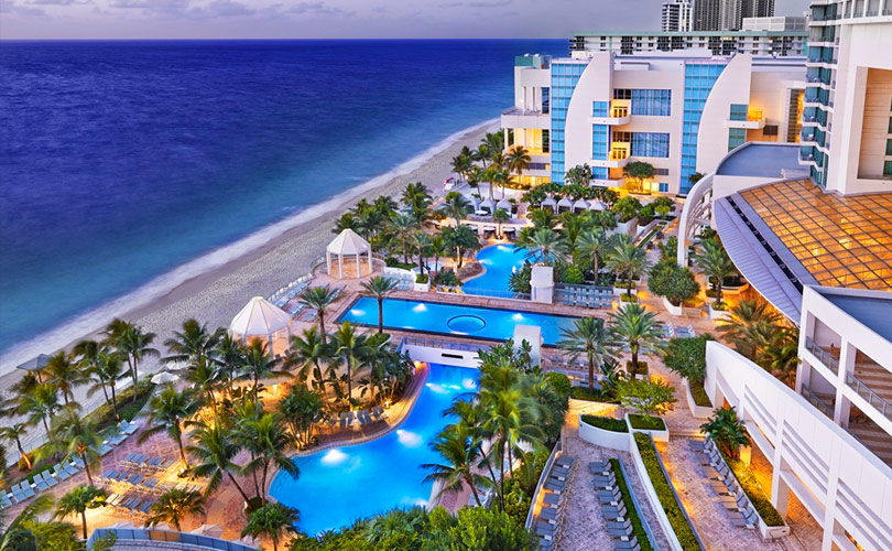 The Diplomat Beach Resort Hollywood Miami Fl