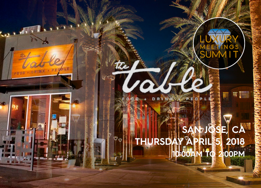 the table san jose The Table Restaurant   San Jose, CA   Luxury Meetings the table san jose